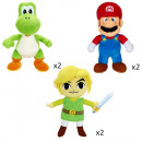 NINTENDO-SORTIMENT 3x2 PLUSH / 6