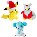 POKEMON PLUSH WEIHNACHTS-SORTIMENT / 6