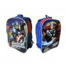 DOUBLE-SIDED BACKPACK 4 ASSORTED LICENSES