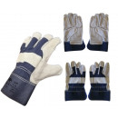 wholesale Working clothes: Safety gloves leather 10.5 '