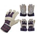 Safety gloves leather 10.5 '