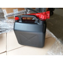 wholesale Car accessories: Fuel can 5L black with red funnel