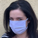Health face mask textile