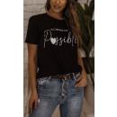 Blúz T-Shirt Női Minden álom lehetséges CZAR