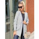 Női pulóver kardigán kabát