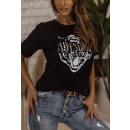 Blouse T-Shirt Women's Awesome BLACK