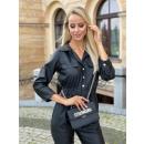 Women's eco-leather suit
