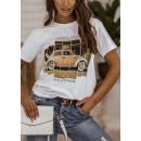 Bluzka t-shirt damska Take a breath BIAŁA
