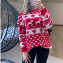 Női karácsonyi pulóverek