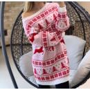 Karácsonyi pulóver ruha