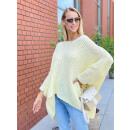 Női aszimmetrikus OVERSIZE pulóver