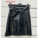 Women's leather skirt