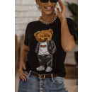 Blouse T-Shirt Women's Love yourself