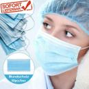 Mundschutz Atemschutzmaske 3 Schichtungen