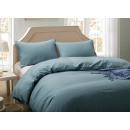 Completo letto 135x200 cm, blu cadetto