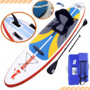 Stand up Paddle Board 300x76x15cm Weiß