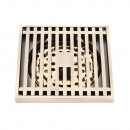Floor drain stainless steel 100x100 shower channel