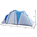 Camping tent 470 x 210 x 185 cm blue