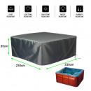 Couverture de protection pour piscine 230W x 230D