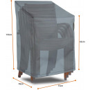 Protective cover for stacking chair 75W x 78D x H6