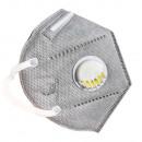 wholesale Toiletries: Respirator mask FFP2 KN95 valve 6 protective layer