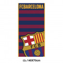 handdoek strand ( Microvezel 70x140cm) FC Barcelon