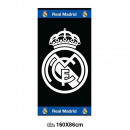 wholesale Towels: towel Beach (Cotton 86x160cm) REAL MADRID
