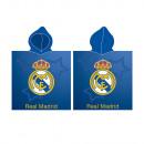 Poncho Playa (Microfibra 55X115cm)Real Madrid