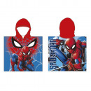grossiste Articles sous Licence: Poncho Beach ( microfibres 55X110cm) Spiderman