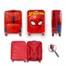 Suitcase with wheels Spiderman