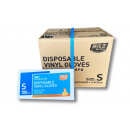wholesale Drugstore & Beauty: Vinyl disposable gloves latex-free powder-free siz
