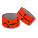 wholesale Accessories & Spare Parts: Floor marking tape keep your distance 50 mm oran