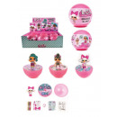 wholesale Beads & Charms: Eraser Bling Lol Surprise Ball Display .6