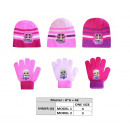 wholesale Scarves, Hats & Gloves: Set 2 pieces Lol Surprise Hat + Gloves