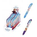 Penna a sfera 6 colori frozenEspositore 24