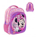 wholesale Bags: 3D backpack Minnie 27X13X31 Cms