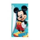 nagyker Törölközők:törülközőmikroszálas Mickey 70X140 CM, 240Gr