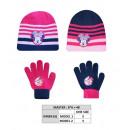 Set 2 pieces Minnie -186-Hat + Gloves