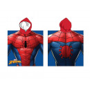 wholesale Licensed Products: Poncho Spiderman 40X110 Cms, 240Gr mixcrofibre