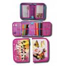 wholesale School Supplies: Pencil case Love Soy Luna 19.5X13X3.5 Cms