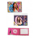 wholesale School Supplies: Diary with Rubber Soy Luna 19X14 Cms (Stripes)