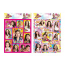 wholesale Children's and baby clothing: Stickers Funny Soy Luna Env. 25, 11X16 Cms