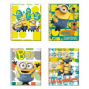 wholesale Booklets & Blocks: Noteblock Minions 9X11,5 Cms