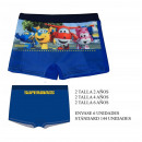 Boxer Swimsuit Super Wings Size 2-4-6