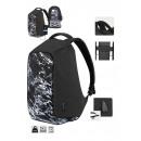 Guardian Black & White Backpack 28X10X48 Cms