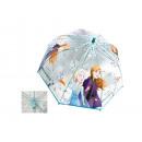 transparent umbrella frozen 45 cms (manual)