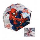 wholesale Umbrellas: transparent umbrella Spiderman 45 cms (manual)