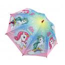 unicorn umbrella 46 cms polyester (automatic)