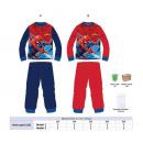wholesale Sleepwear: cotton pajamas Spiderman size .3-4-5-6-8