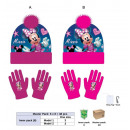 wholesale Scarves, Hats & Gloves: Set 2 pieces Minnie cap + gloves sublimation